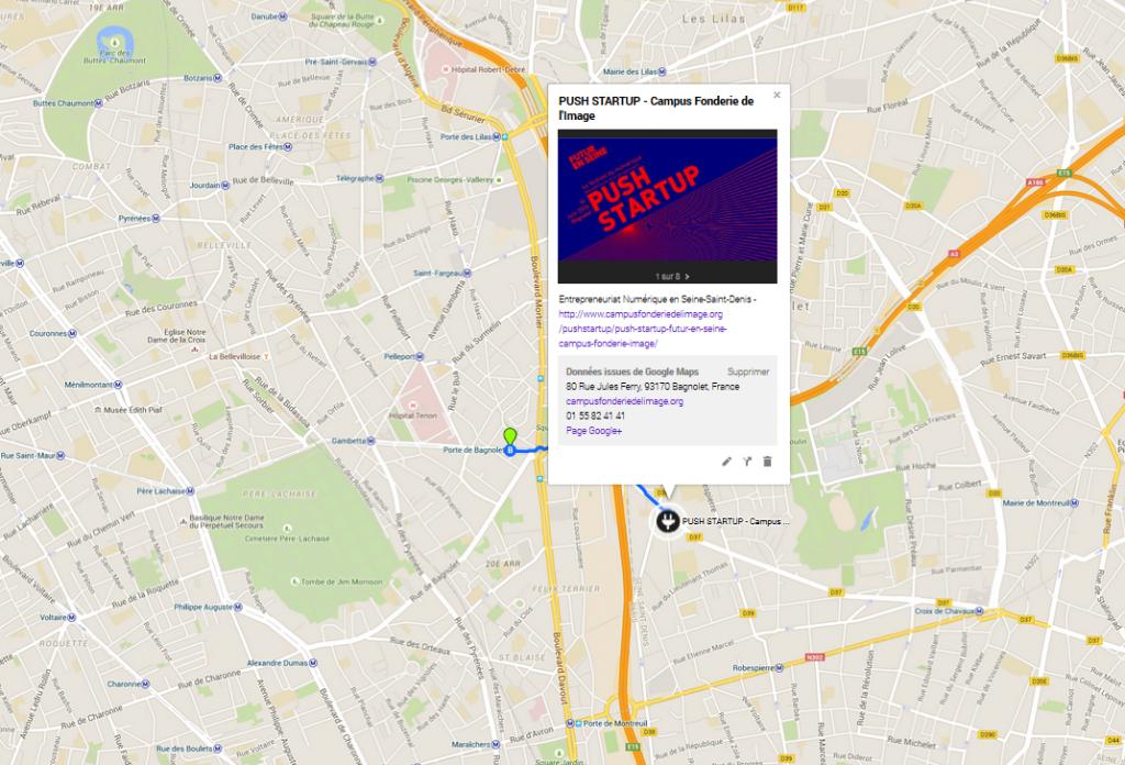 Push Startup - Google Map