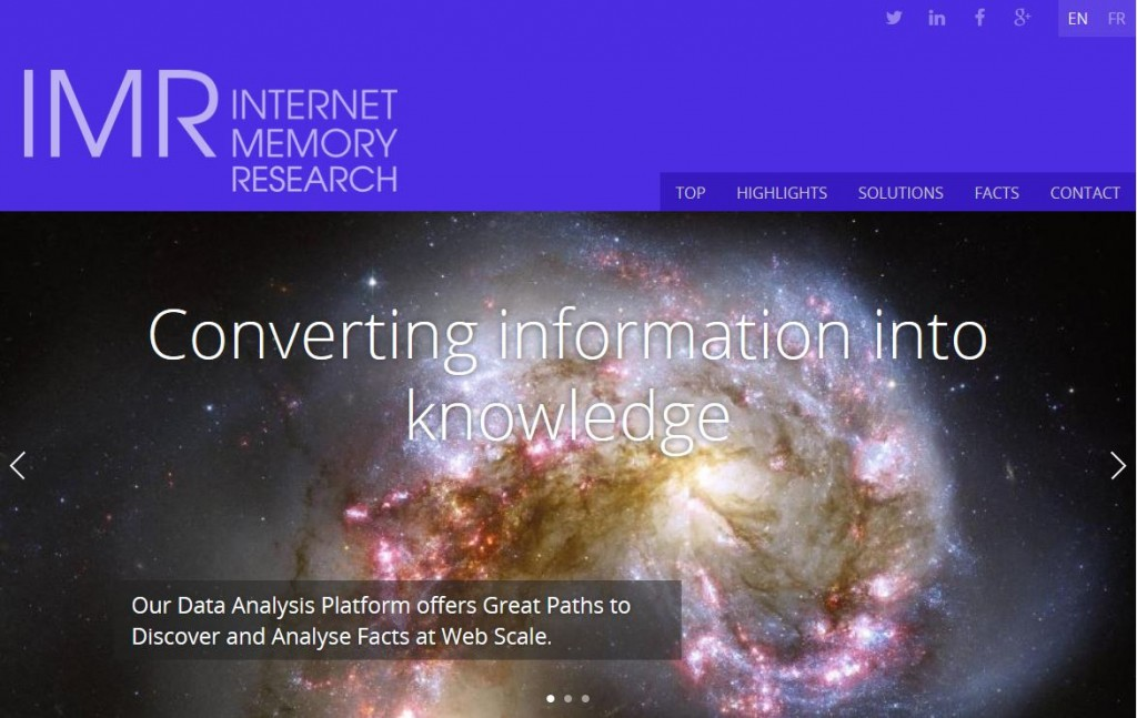 Internet Memory Research
