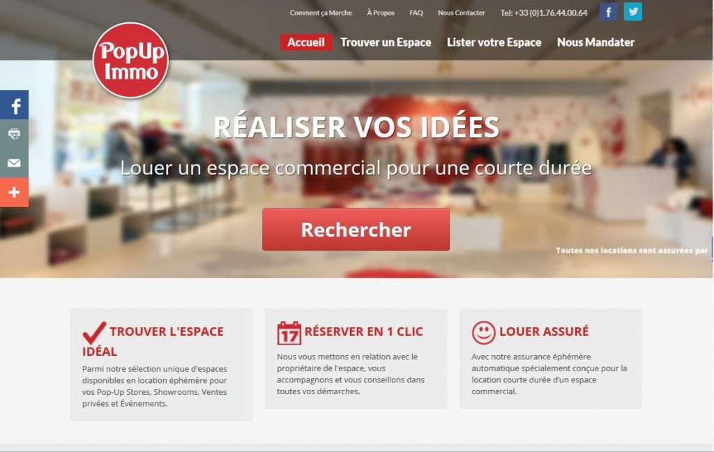 popup immo