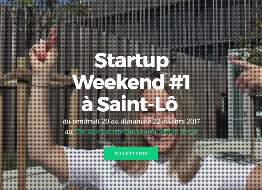 Startup Weekend Saint Lô