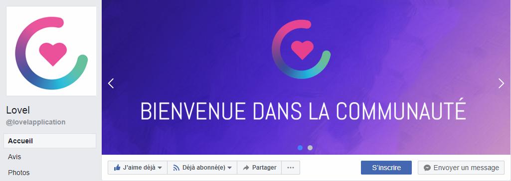 Lovel facebook