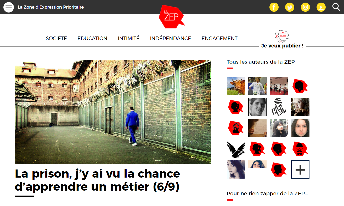 La ZEP - Zone d'Expression Prioritaire