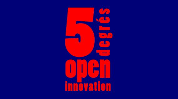 5 degrés de l'open innovation