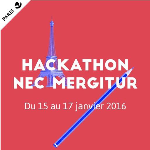 Mention Coup de cœur pour l'étudiant Manga Zossou lors du hackathon nec mergitur.