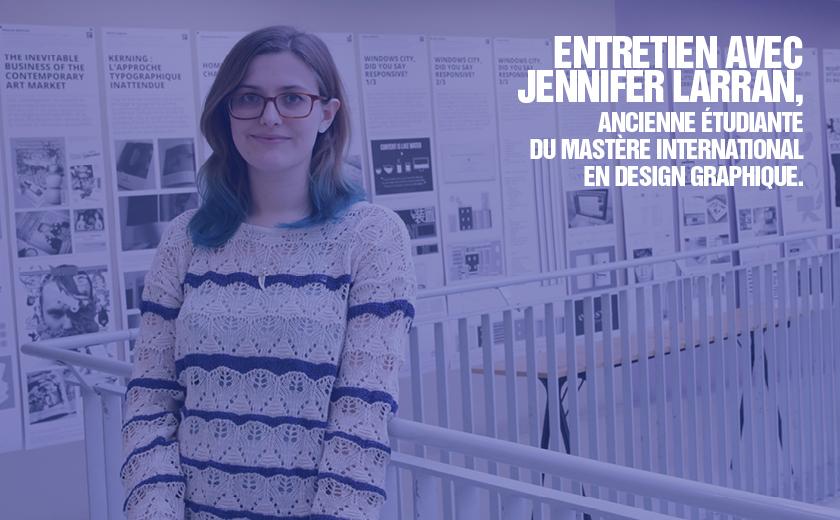 Alumni: que sont-elles devenues? – Jennifer Laran