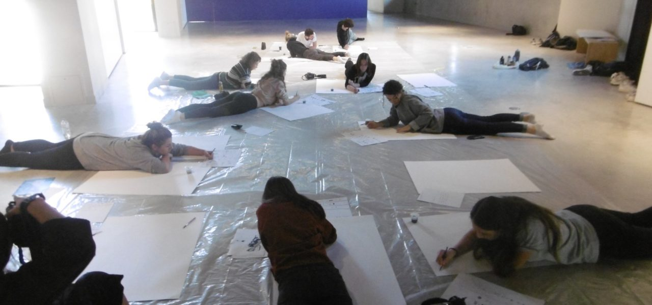 Les Signes des apprenti-es Concepteur-e Designer-e graphique Print: une sortie àChaumont et une première exposition des étudiant-es