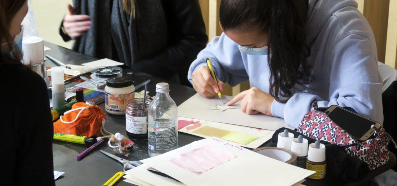Workshop de rentrée pour les étudiants du Mastère en design graphique
