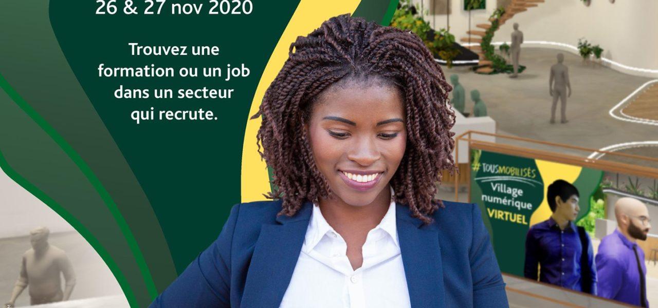 Village Numérique: RDV sur le stand virtuel du Campus le 26 novembre!