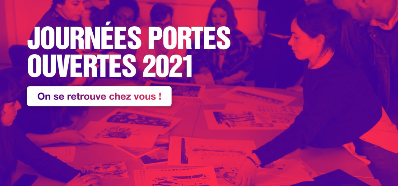 Participez aux Journées Portes Ouvertes en ligne du Campus Fonderie de l'Image!
