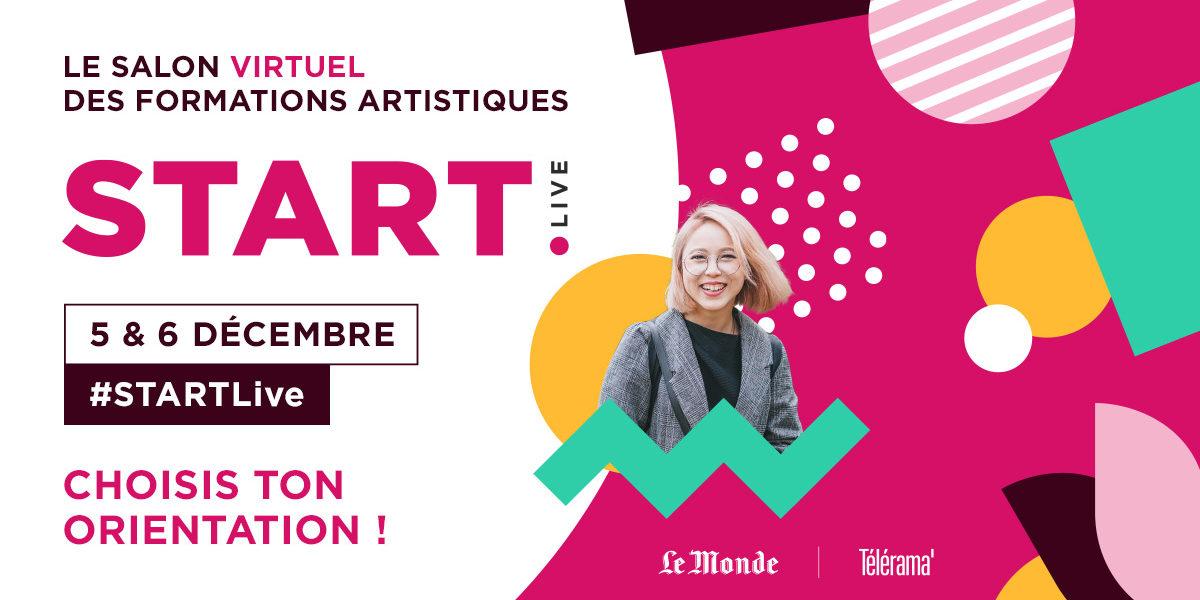Le Campus présentera ses formations artistiques au salon START les 5 &6 décembre