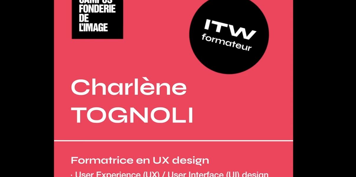 Charlène Tognoli, formatrice au Campus, vous présente la formation de Webdesigner Dataviz (bac +2)