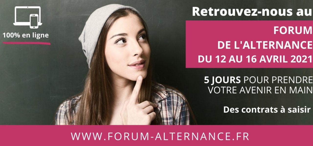 Retrouvez le Campus lors du Forum de l'alternance 100% digital!